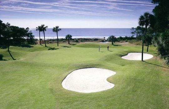 Golf course view on Hilton Head Island
