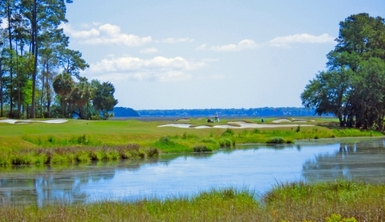 Waterfront real estate at Berlfair, Bluffton SC